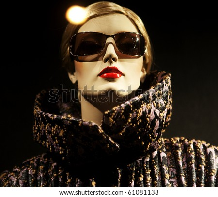mannequin. No brandnames or copyright objects. - stock photo
