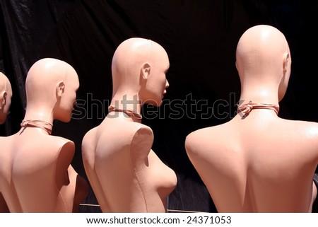 Mannequins - stock photo