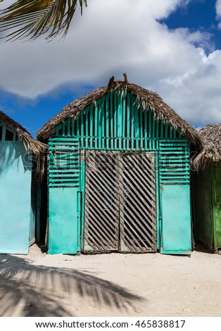 Mano Juan village in Saona Domenican Republic