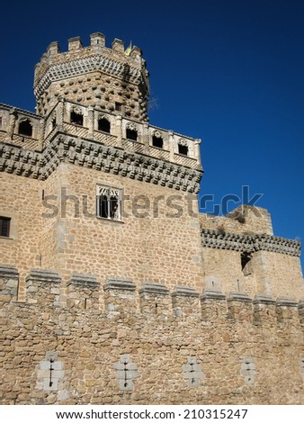 Mansanares Castle, Community of Madrid, Spain