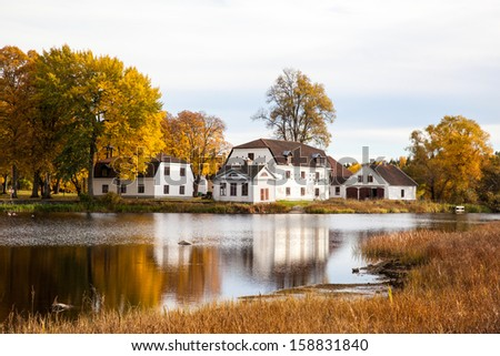 Mansion in Sweden - stock photo
