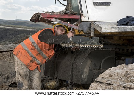 Manual Worker Working