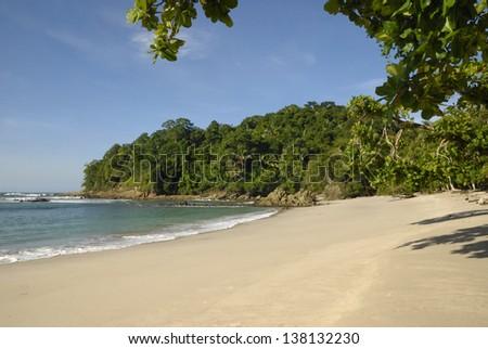 Manuel Antonio Beach, Costa Rica - stock photo
