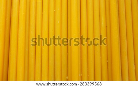 Many candles - stock photo