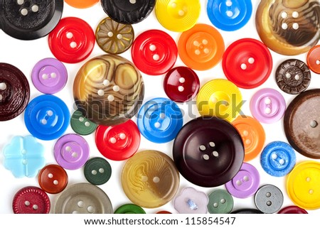 many color buttons background