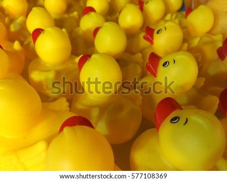 Many Duck Doll Soft Light Stock Photo & Image (Royalty-Free ...