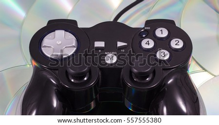 many people like to spend free time behind computer games, the gamepad is a device which allows to operate game process