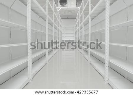many shelf are in the shopping mall
