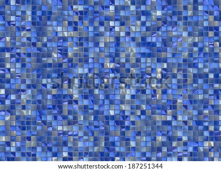 many small colour square mosaic. pattern texture. abstract image - stock photo