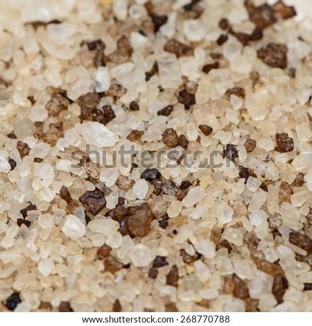 Many small diamond jewel stones, luxury background - stock photo