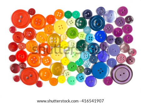 Many small original buttons