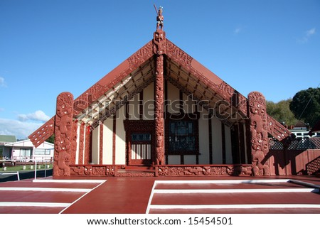 Maori Culture in New Zealand - stock photo