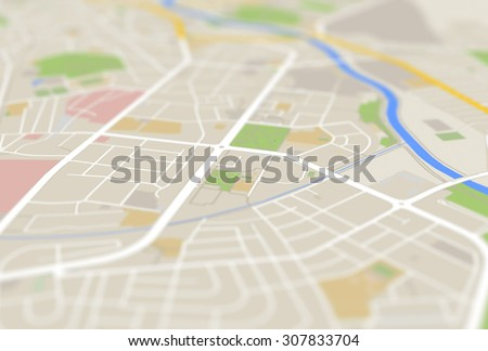 map - stock photo