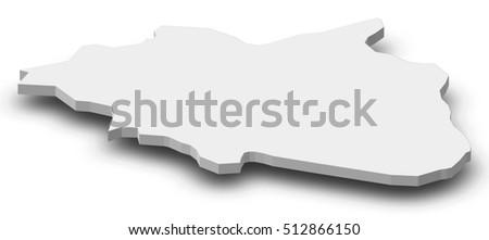 Map Cankiri Turkey 3dillustration Stock Illustration 512866150