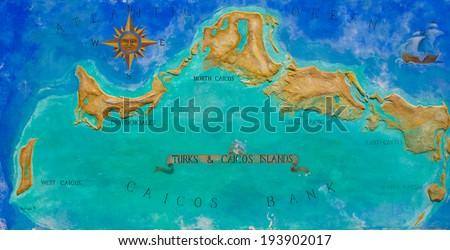 Caribbean Islands Map Stock Images RoyaltyFree Images Vectors - Map of the caribbean island