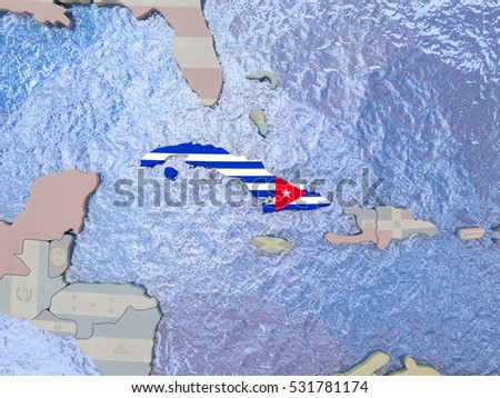 Cuba Map Stock Images RoyaltyFree Images Vectors Shutterstock - Political map of cuba