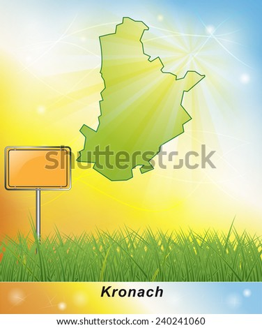 Map of Kronach