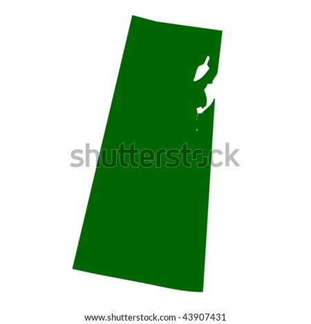 Map of Saskatchewan province or territory in Canada, isolated on white background. - stock photo