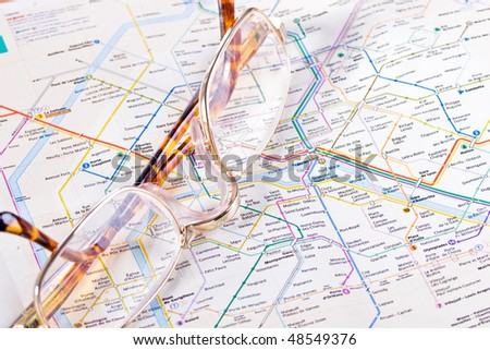 Map French Metro Stock Photo Royalty Free Shutterstock - French metro map
