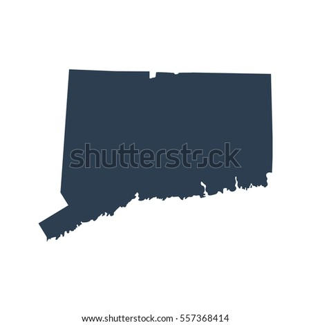 Map Of The U S State Of Connecticut