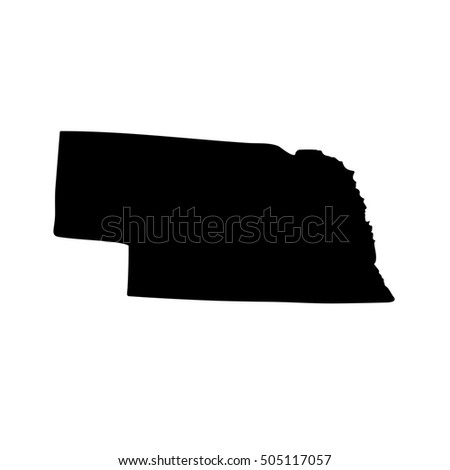 Nebraska Border Stock Images RoyaltyFree Images Vectors - Us map nebraska state