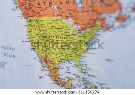 North America Globe Stock Images RoyaltyFree Images Vectors - Us map on globe