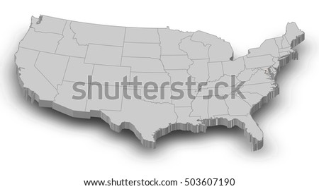 District Of Columbia State Map Stock Images RoyaltyFree Images - United states map washington dc