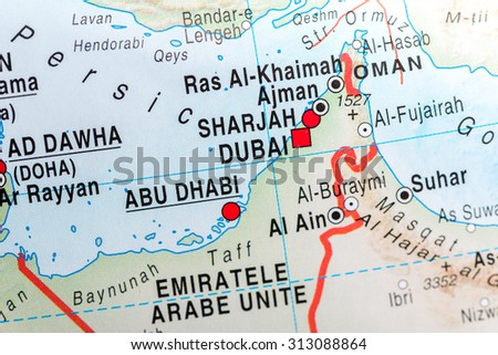 Abu Dhabi Map Stock Images RoyaltyFree Images Vectors