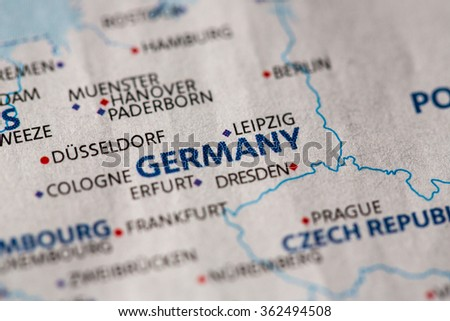SevenMapss World Map Set On Shutterstock - Germany map view