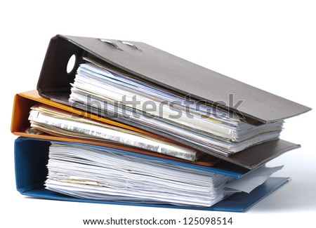 maps to be used in a administrion - stock photo