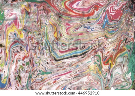 Marble background suminagashi, abstraction, raster