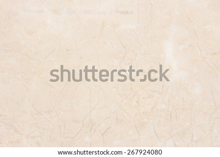 Marble background with natural pattern. Beige marble stone wall texture. - stock photo