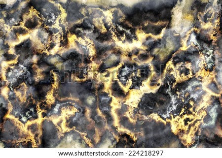 Marble black and gold stone background texture, Abstract mottled grunge background texture with spotty pattern wall, old black and gold rough wall background