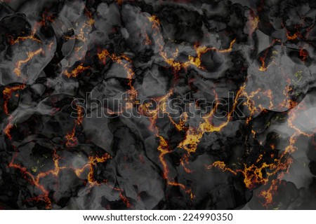 Marble black and gold stone background texture, Abstract mottled grunge background texture with spotty pattern wall, old black and gold rough wall background - stock photo