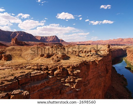 Marble Canyon of the Colorado and the Vermilion Cliffs