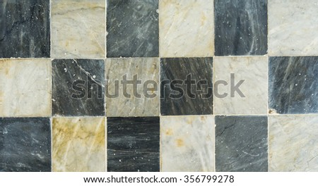 marble chess pattern on background - stock photo