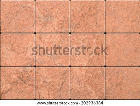 Marble floor tiles - stock photo