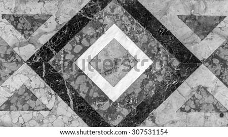 Marble Mosaic texture - stock photo