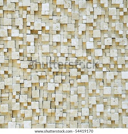 Marble mosaic texture. - stock photo
