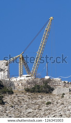 marble quarry in carrara