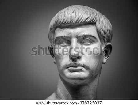 Marble sculpture of Marcus Junius Brutus