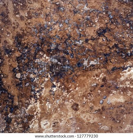 Marble stone floor texture background - stock photo