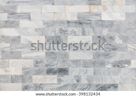 Marble texture pattern, Gray light marble walls interiors design for your background - stock photo