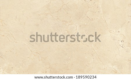 Marble texture, yellowish beige stone background. Crema Marfil