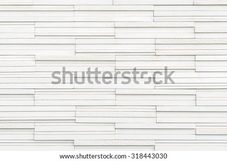 Marble tile wall texture detailed pattern background in light white grey color tone: Modern stone wall tiled patterned detail textured backdrop for interior design and decoration  - stock photo