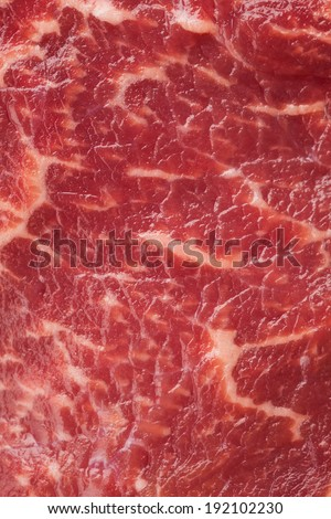 marbled meat texture - stock photo