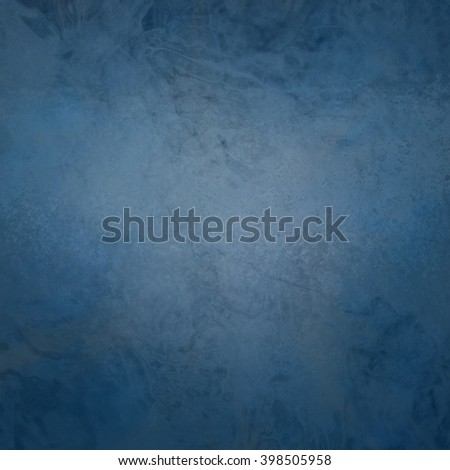 marbled textured background, glossy glass pattern of wavy texture shapes, navy blue or denim blue color - stock photo
