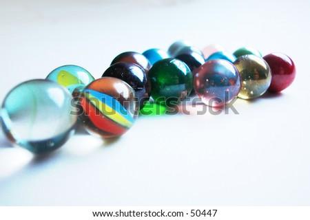 marbles02 - stock photo