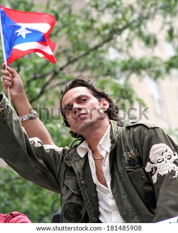 Marc Anthony in attendance for 50th Anniversary National Puerto Rican Day Parade, Manhattan, New York, NY, June 10, 2007