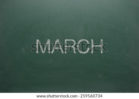 March on Green Board
